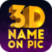 3D Name on Pics – 3D Text