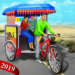 Bicycle Rickshaw Simulator 2019 : Taxi Game