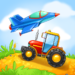Kids Cars Games! Build a car and truck wash!
