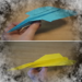 Origami paper planes up to 100 meters