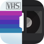 RAD VHS- Glitch Camcorder VHS Vintage Photo Editor