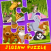 Kids Jigsaw Puzzle For Forest Animals